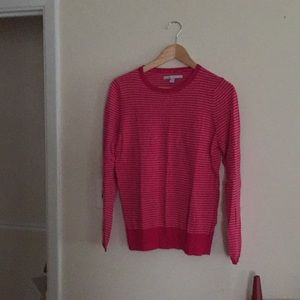 Old Navy Pink Striped Sweater